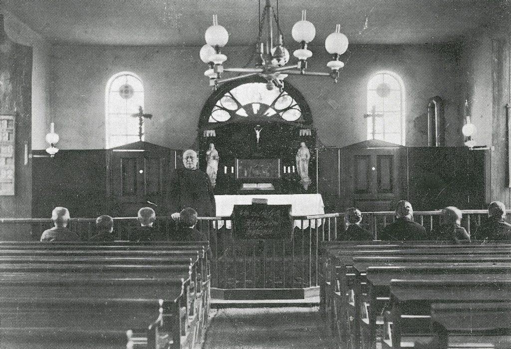 Sengelmann in der Kirche