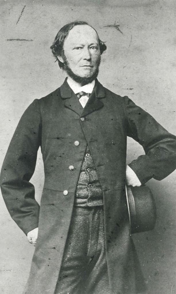 Heinrich Matthias Sengelmann mit Hut