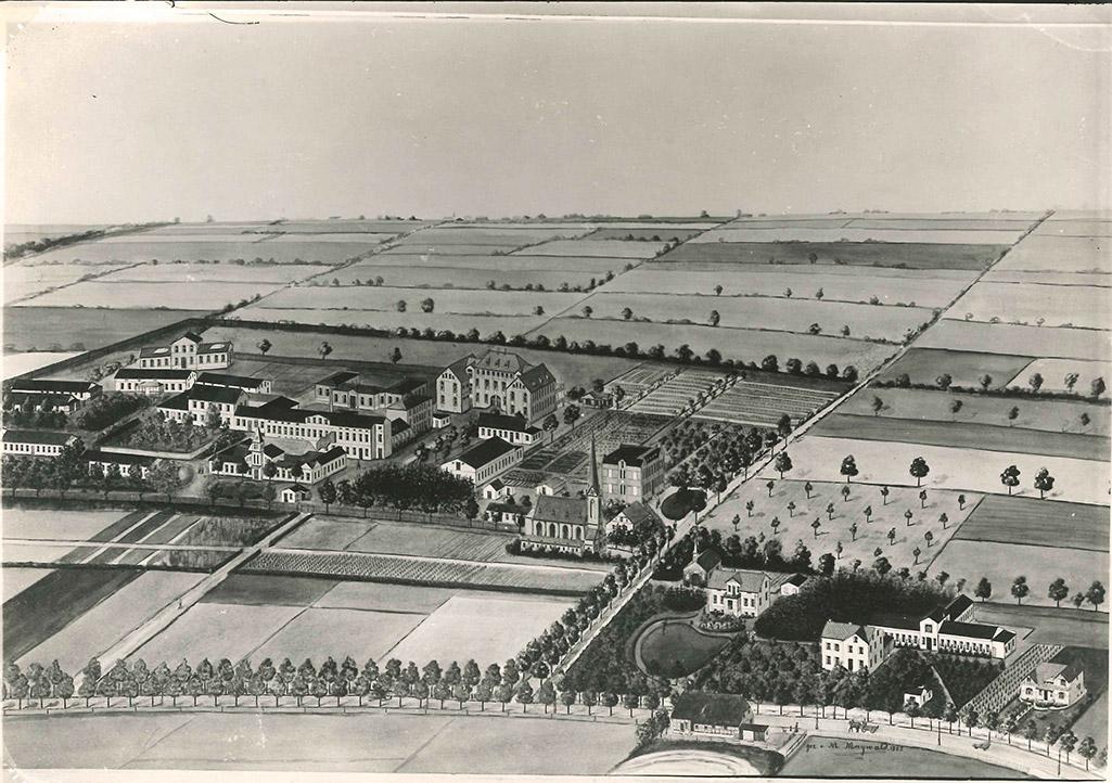 Stiftungsgelände um 1900