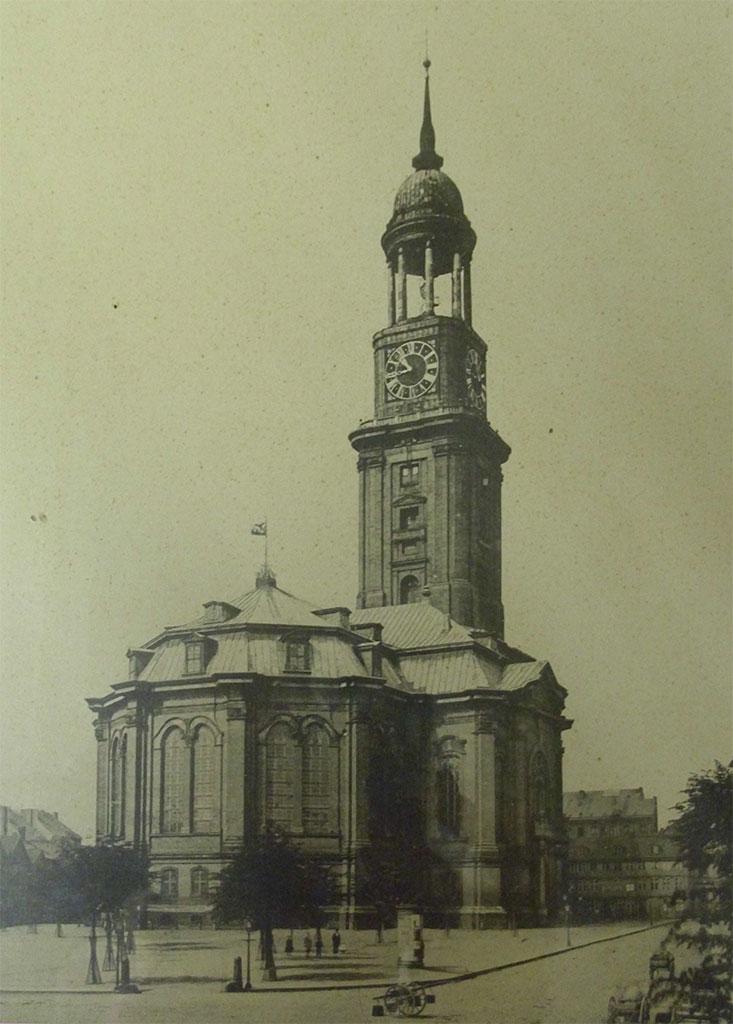 St. Michaelis um 1860
